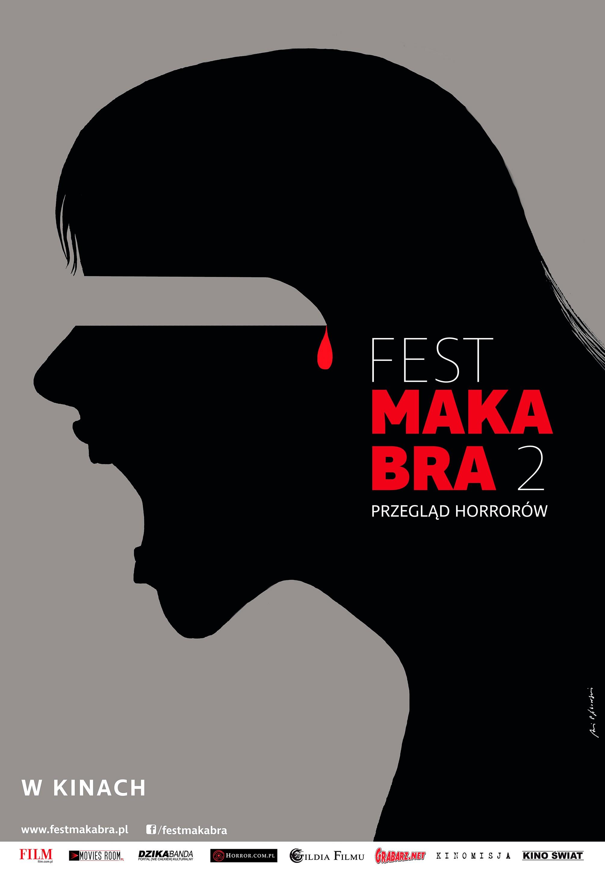 Fest Makabra 2 Artystyczny Plakat Autorstwa Andrzeja