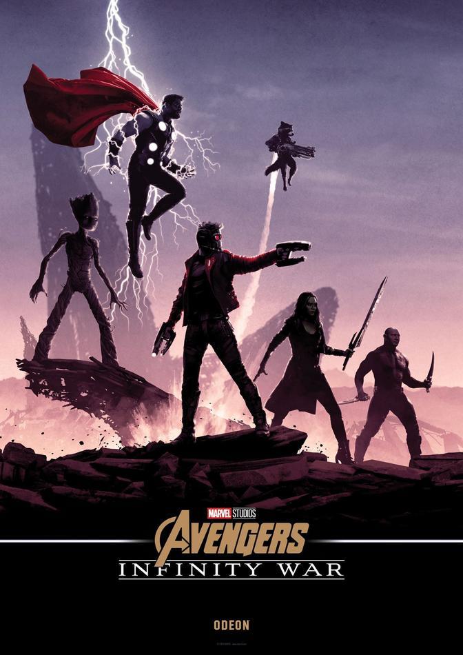 Ekskluzywne Plakaty Avengers Infinity War